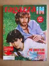 RAGAZZA IN Fotoromanzo  n°4 1979 Brooke Shields Christopher Reeve POOH [G598]