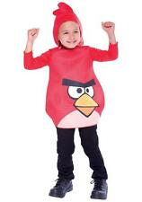 Lot of 12 Red Angry Birds Rovio Video Game Child Halloween Costumes Toddler 2T