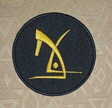DEUS EX  Human Revolution Movie Game PS3 Iron-on Embroidered Patch / Badge/ Logo
