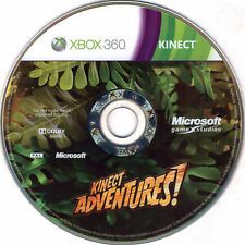 XBOX 360 Kinect Adventures! Video Game Multiplayer Online Dodge 1080p DISC-ONLY