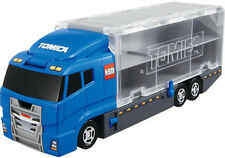 TOMICA WORLD Transport Trailer Truck Convoy FIGURE CAR PLAY SET NEW