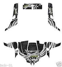 NG Racing WRAP QUAD CanAm Can am Commander 800r 800xt 1000 # NOVOBOAT BLACK