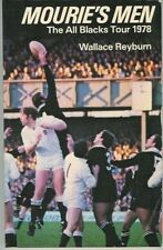 NEW ZEALAND ALL BLACKS TO BRITISH ISLES 1978 RUGBY BOOK W REYBURN MOURIE'S MEN