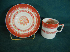 Copeland Spode Heritage Red New Stone  Demitasse Cup and Saucer Set(s)
