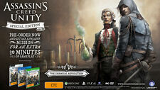 Assassin's Creed Unity Special Edition PS4 AUS PAL *NEW* + Warranty!!