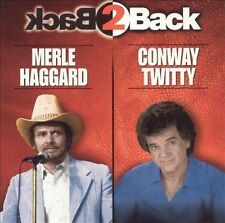 FREE US SHIP. on ANY 2 CDs! NEW CD Merle Haggard, Conway Twitty: Back 2 Back