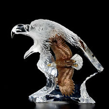 "Starlite Originals ""Journey""  Eagle Lucite Sculpture Statue by Kitty Cantrell"