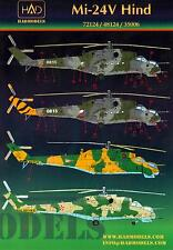 Hungarian Aero Decals 1/72 MIL Mi-24V HIND Russian Attack Helicopter