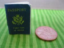 Mini Paper Barbie Travel Passport-Train/Plane/Car-Diane Von Furstenburg Diorama