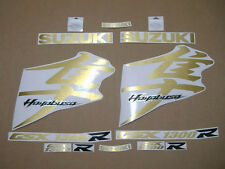 Hayabusa 1340 K8 decals stickers graphics kit set brushed gold adhesives labels