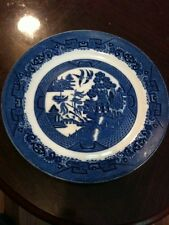 Lovely Solian Ware/ Soho Pottery Willow Pattern Large Plate