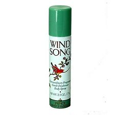 Prince Matchabelli Wind Song Deodorant Body Spray for Women 2.5 Ounce