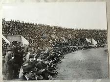 photo press football  5 mai 1921 France-Angleterre , Le Public       464