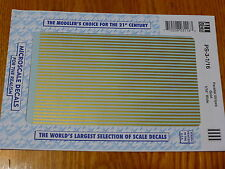"Microscale Decal #PS-3-1/16 Parallel Stripes 1/16"" Wide Gold"