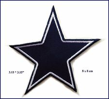 NFL Dallas Cowboys Star Logo EMBROIDERED PATCH Badge Iron-on