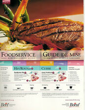 Foodservice Beef Merchandising Guide - CD - Beef Recipes (English-French)