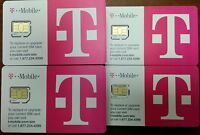T-Mobile 4G LTE OEM MICRO Sim Card. for iPhone 4/4s,GalaxyS3/S4, NEW TMOBILE SIM