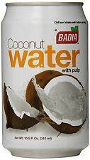Badia Coconut Water with Pulp, 10.5 Ounce Pack of 24