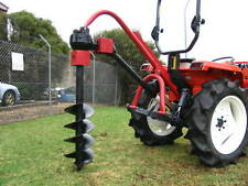 """New Tracmaxx Post hole digger for tractor 3 point linkage, 7"""" auger included"""