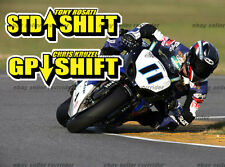 race shift pattern decals ccs wera, fits all motorcycle