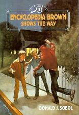 Encyclopedia Brown Shows the Way-ExLibrary