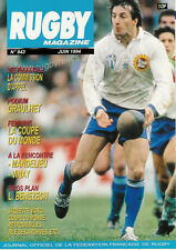 RUGBY No 943 Jun 1994 OFFICIAL MAGAZINE OF THE FFR - FRANCE