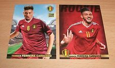 PANINI CARREFOUR 28 & 62/180 BELGIAN RED DEVILS TOUS ENSEMBLE FERREIRA CARRASCO
