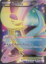 Pokemon Card Cresselia EX 143/149 Full Art B&W Boundaries Crossed Set EX MINT-NM
