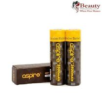 2 x Genuine Aspire 18650 ICR 3.7 20A / 40A 2500mAh Li-ion Battery Best for Vape