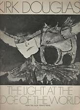 THE LIGHT AT THE EDGE OF THE WORLD kirk douglas 1971 pressbook