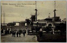 Cartolina Formato Piccolo - Genova - Esposizione Igiene, Marina e Colonie 1914 M