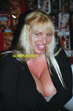 LISA LIPPS 8X12 ORIGINAL PHOTO- B030- BUSTY LEGEND- BLONDE