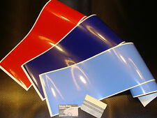 3 bandes / strip decal motorsport colors 190mm BMW M3 M5 M6 stickers pegatinas