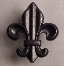 Fleur de lis drawer pull oil rubbed bronze color 1140-ORB (DP01)