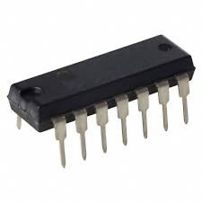 INTEGRATO CMOS 4073 - Triple 3-input AND gate