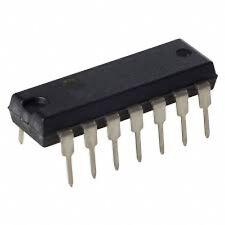 INTEGRATO CMOS 4073 - Triple 3-inputAND gate