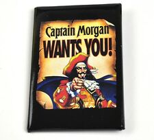 Captain Morgan WANTS YOU! Pin Button USA Anstecknadel