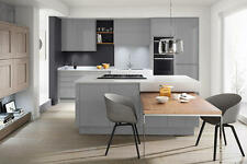 Remo Grey  (Second nature range) Kitchen units & doors Rigid Built Kitchens