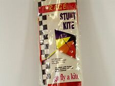"Go Fly A Kite Dual Line Stunt Kite Rage 35"" Nylon Ripstop Sail Fiberglass Frame"