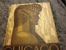 Chicago: The World's Youngest Great City; HC 1929 ; Art Deco; quarto