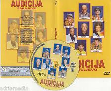 AUDICIJA Sarajevo DVD  Cabaravdic Rizo Kurtovic Minka Profesor Bosna Komedija
