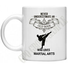 Never Underestimate..Martial Arts Novelty Gifts Dad Grandad Funny Judo Karate