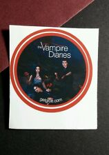 "GET GLUE GETGLUE THE VAMPIRE DIARIES ELENA STEFAN DAMON SMALL 1.5"" TV STICKER"