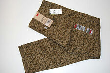 Levi's Slim Straight Cargo 1 Pant Brown Camo Men's 33x30 New with Tags $68