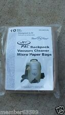 Dust Care Jet Pac Atrix VACBP1 Pullman Holt P7 B200648 Vacuum cleaner paper bag