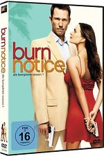 BURN NOTICE, Season 1 (4 DVDs) NEU+OVP