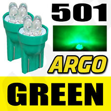501 4 LED GREEN QUAD SIDELIGHT BULBS T10 W5W XENON VOLKSWAGEN VW GOLF GTI TDI GT