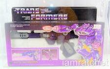 Transformers Original G1 AFA 80 + Pre Rub Shockwave MISB 80/85/90