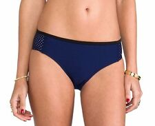 ***NWT C&M CAMILLA AND MARC ANOTHER WORLD NEOPRENE BIKINI BOTTOM IN NAVY US SZ 4