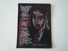 CRADLE OF FILTH PATCH DANI FILTH 1997 BLACK DEATH METAL BAND NEW